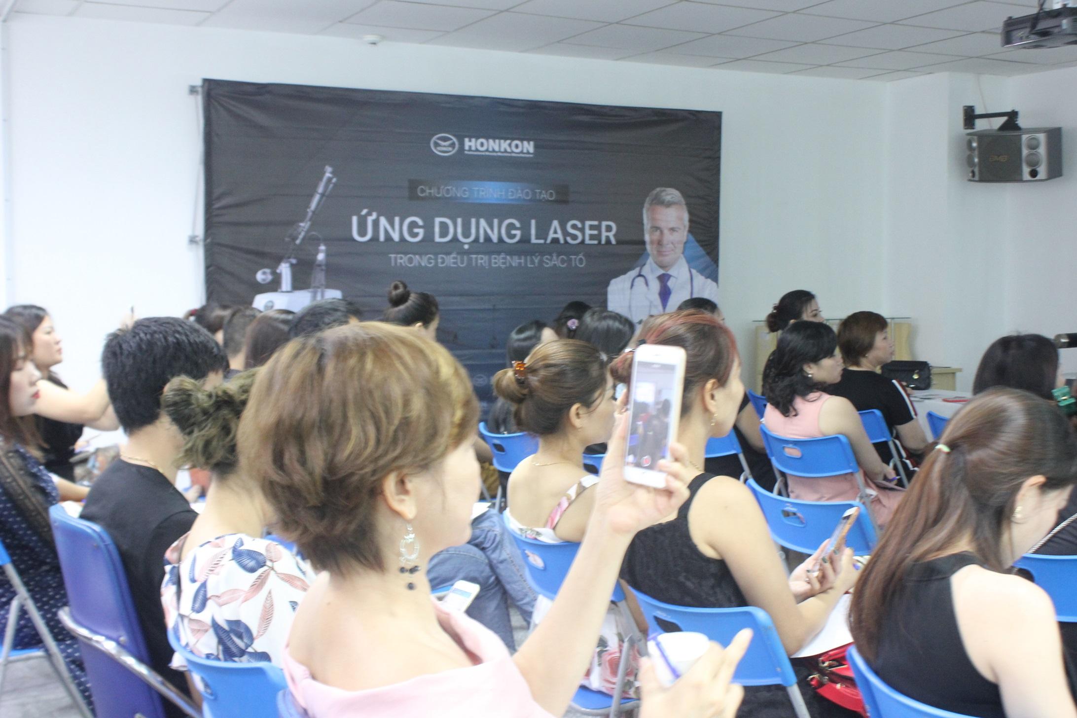 Đào tạo Spa: Ứng dụng Laser trong ddiều trị da liễu thẩm mỹ