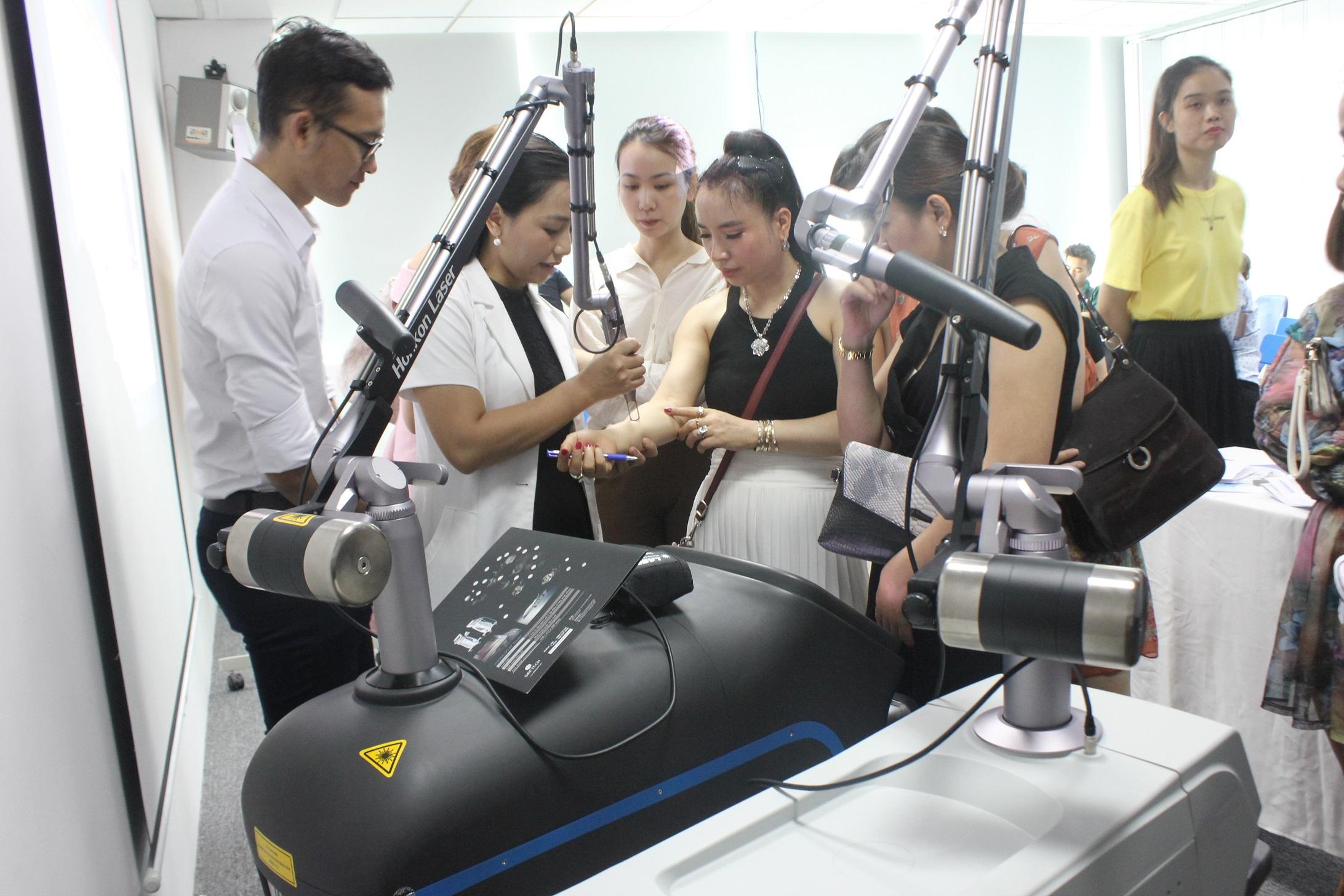 Đòa tạo Spa; Ứng dụng laser trong điều trị da liễu thẩm mỹ