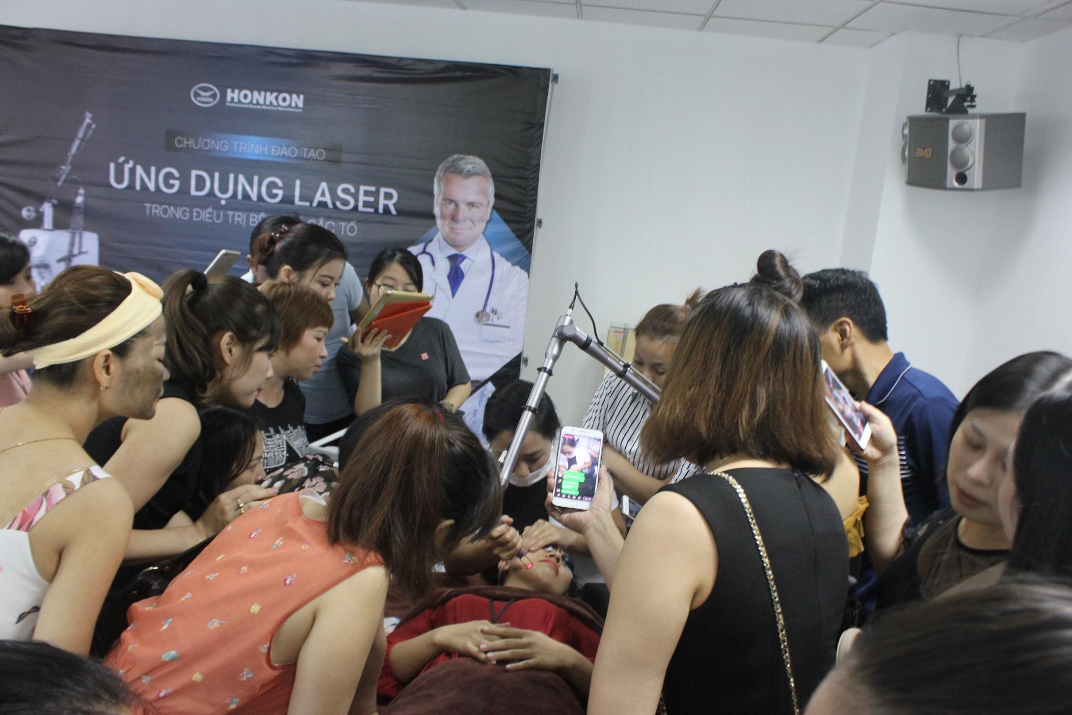 Đào tạo Spa: Ứng dụng laser trong điều trị da liêuc thẩm mỹ