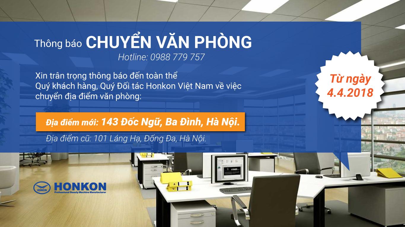 Địa điểm công ty máy Honkon Việt Nam